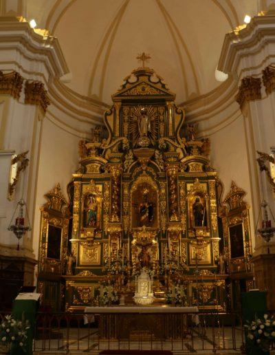 Iluminación de retablo