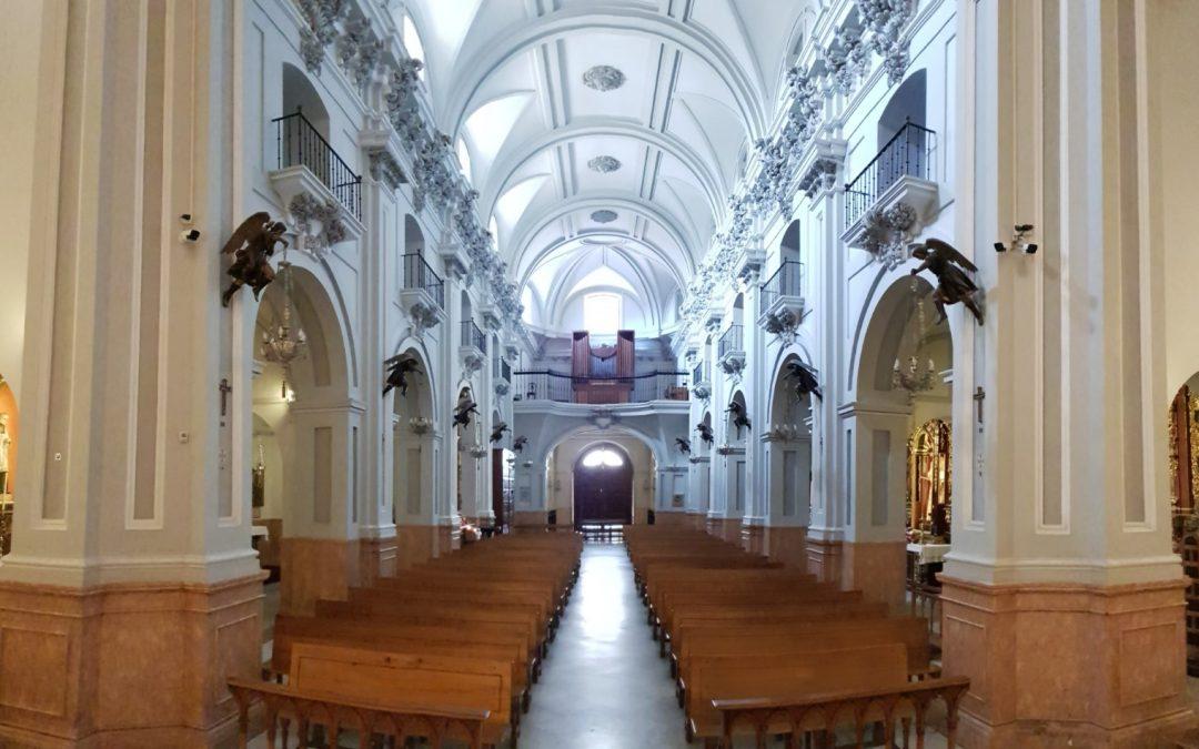 CCTV La Basílica, Real Santuario y Parroquia de Santa María de la Victoria y de la Merced (Málaga)